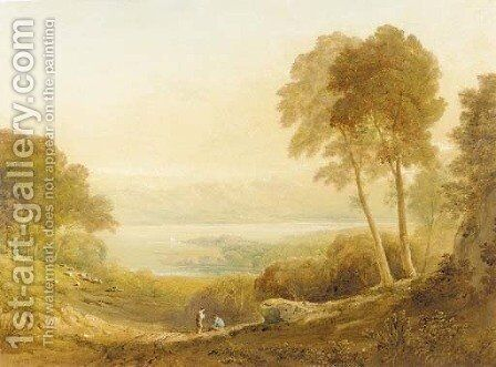 Ennerdale, from High Point Farm 2 by Anthony Vandyke Copley Fielding - Reproduction Oil Painting
