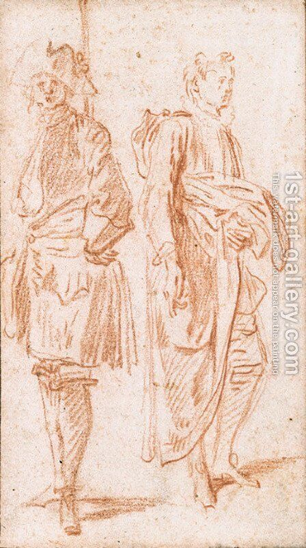 Untitled by Jean-Antoine Watteau - Reproduction Oil Painting