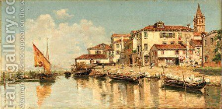 Untitled by Antonio Maria de Reyna - Reproduction Oil Painting