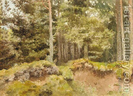 An Essex wood by Archibald Thorburn - Reproduction Oil Painting