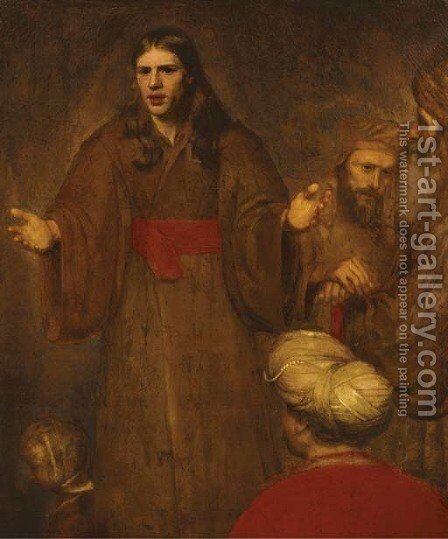 Christ blessing the children by Aert De Gelder - Reproduction Oil Painting