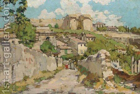 Le Fort St. Andre, Villeneuve des Avignon by Armand Coussens - Reproduction Oil Painting