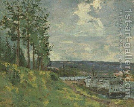 Bords de la Marne by Armand Guillaumin - Reproduction Oil Painting