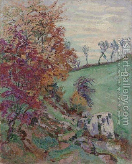 La Creuse by Armand Guillaumin - Reproduction Oil Painting