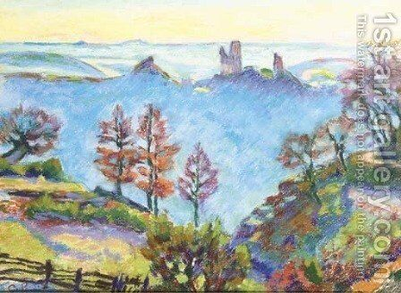 Les Brejots, Crozant by Armand Guillaumin - Reproduction Oil Painting