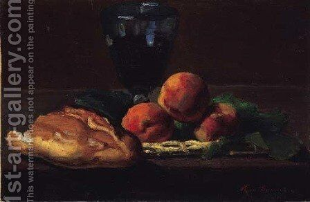 Nature morte aux fruits 2 by Armand Guillaumin - Reproduction Oil Painting