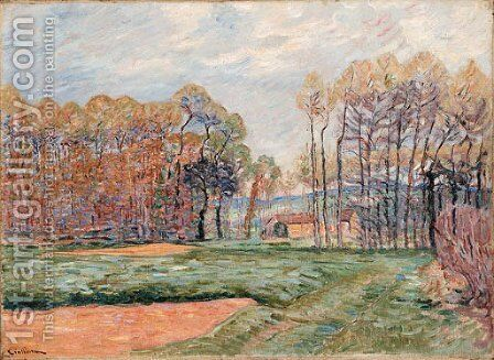 Paysage d'Automne by Armand Guillaumin - Reproduction Oil Painting