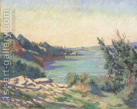 Saint-Servan by Armand Guillaumin - Reproduction Oil Painting