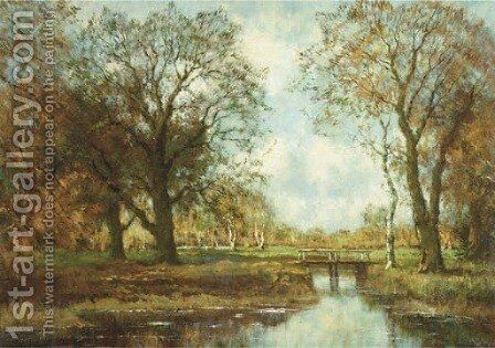 Autumn by Arnold Marc Gorter - Reproduction Oil Painting