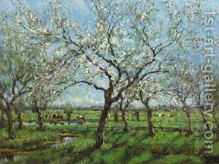 Spring by Arnold Marc Gorter - Reproduction Oil Painting