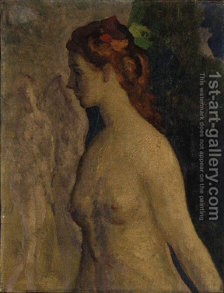 Isolde by Arthur Bowen Davies - Reproduction Oil Painting