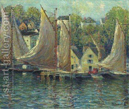 Gloucester by Arthur C. Goodwin - Reproduction Oil Painting