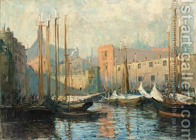 Untitled by Arthur C. Goodwin - Reproduction Oil Painting