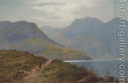 Loch Maree, Scotland by Arthur Gilbert - Reproduction Oil Painting