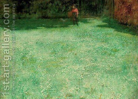 Daisies by Arthur Hacker - Reproduction Oil Painting