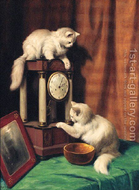 A Pause in Time by Arthur Heyer - Reproduction Oil Painting