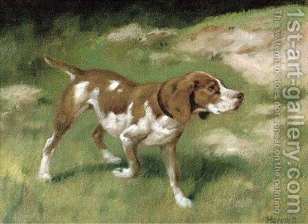 On a point by Arthur Heyer - Reproduction Oil Painting