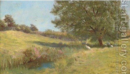 Noonday by Arthur Hughes - Reproduction Oil Painting