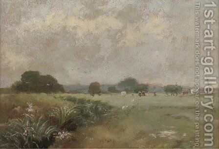 Hale Farm water meadows by James Stark - Reproduction Oil Painting
