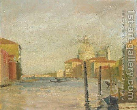 The Grand Canal, Venice by Arthur Melville - Reproduction Oil Painting