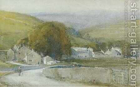 Sunset glow, Kettleworth by Arthur Reginald Smith - Reproduction Oil Painting