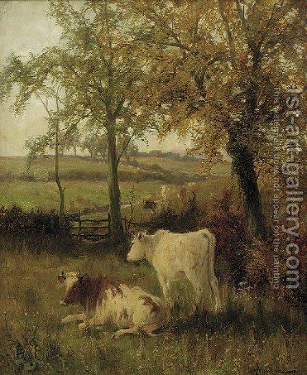 Autumn, Leicestershire by Arthur Walker Redgate - Reproduction Oil Painting