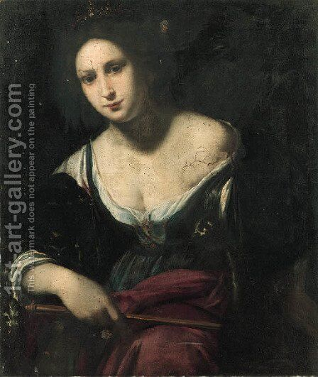 Juno by (after) Benedetto Veli - Reproduction Oil Painting