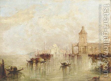 The Bacino From San Marco by (after) Francis Moltino - Reproduction Oil Painting