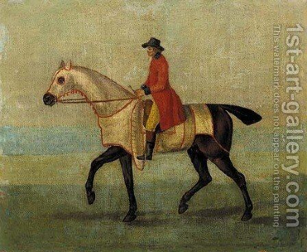 Squirrel, with jockey up by (after)  J. Francis Sartorius - Reproduction Oil Painting
