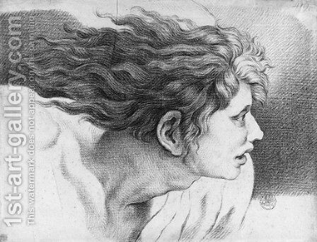 The Head of Heliodorus by (after) Francois-Andre Vincent - Reproduction Oil Painting