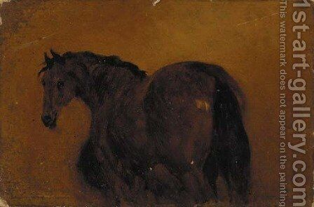 Eight oil sketches of horses by (after) George Jones - Reproduction Oil Painting