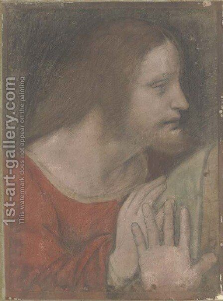 Saint James the Less by (after) Giovanni Antonio Boltraffio - Reproduction Oil Painting