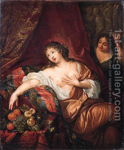 Cleopatra by (after) Herman Collenius - Reproduction Oil Painting