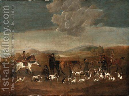 End of the hunt by (after) James Seymour - Reproduction Oil Painting