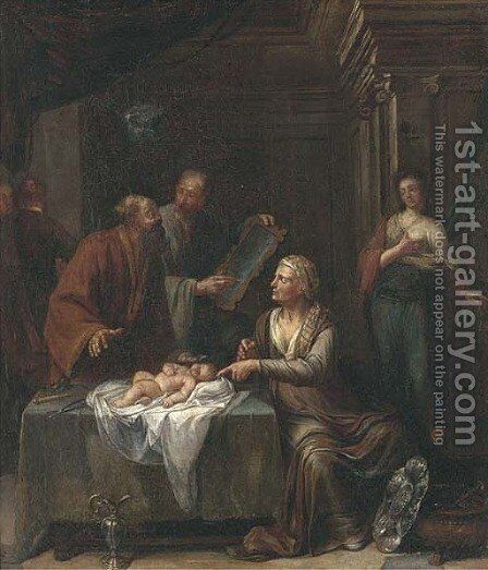 A circumcision by (after) Jan Verkolje - Reproduction Oil Painting