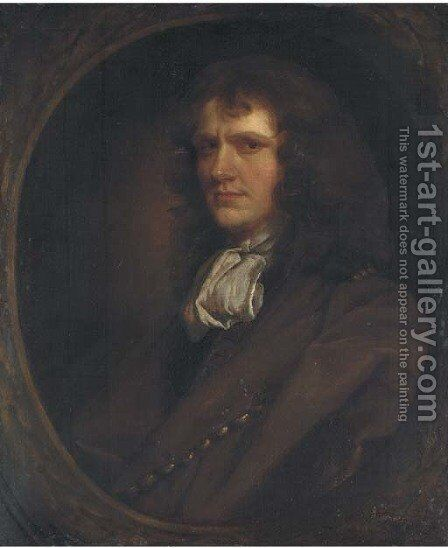 Portrait of a gentleman, by (after) John Greenhill - Reproduction Oil Painting
