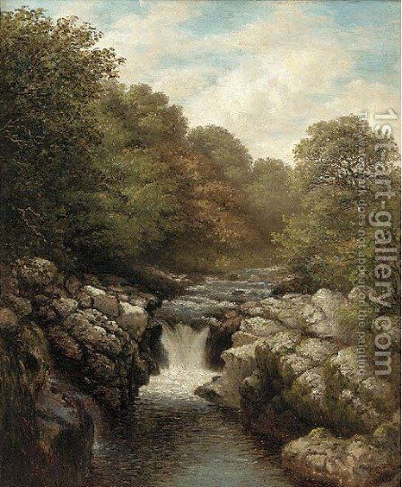 On the Erme by (after) John MacWhirter - Reproduction Oil Painting