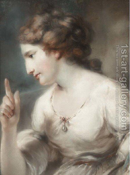 Prudence by (attr. to) Russell, John - Reproduction Oil Painting