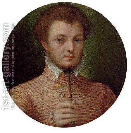 Portrait of a gentleman by (after) Lavinia Fontana - Reproduction Oil Painting