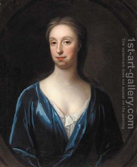Portrait of a lady by (after) Maria Verelst - Reproduction Oil Painting