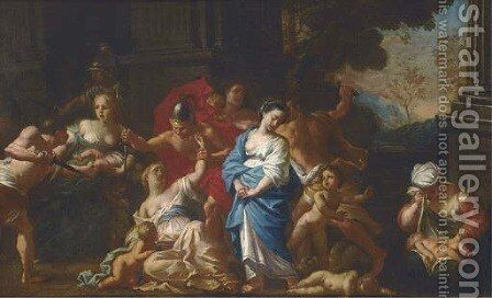 The Massacre of the Innocents by (after) Michele Da Parma (see Rocca) - Reproduction Oil Painting