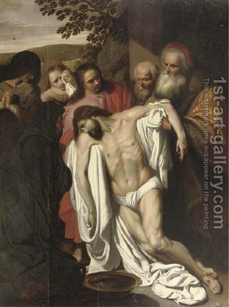 The Lamentation by (after) Pieter Van Mol - Reproduction Oil Painting