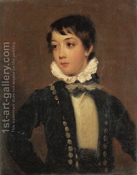 Portrait of George Sackville Casement (1805-1843) by (after) Sir Martin Archer Shee - Reproduction Oil Painting