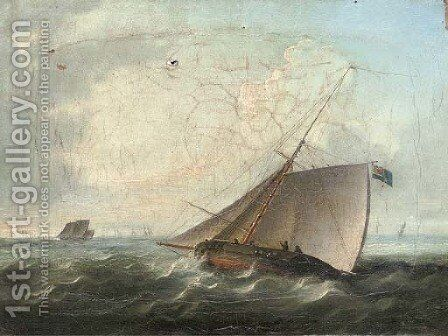 The pursuit by (after) Thomas Buttersworth - Reproduction Oil Painting