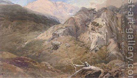 Glen Nevis by (after) Thomas Miles Jnr Richardson - Reproduction Oil Painting