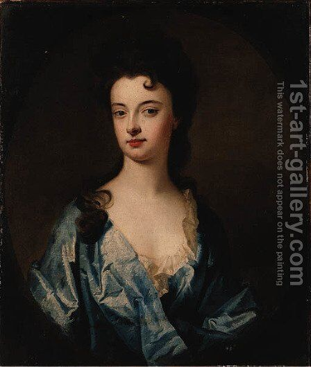 Portrait of a Lady by (after) William Aikman - Reproduction Oil Painting