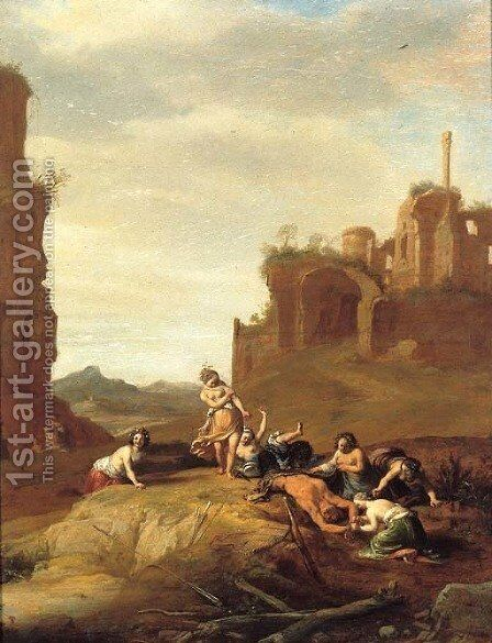 The Flaying of Marsyas by Bartholomeus Breenbergh - Reproduction Oil Painting