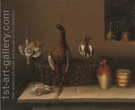 The game larder 3 by Benjamin Blake - Reproduction Oil Painting