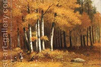 Untitled by Benjamin Champney - Reproduction Oil Painting