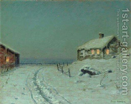 Winter Twilight 2 by Birge Harrison - Reproduction Oil Painting